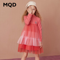 【折后券后�A估�r:152】MQD童�b女童���B衣裙20冬�b新款�和�加厚保暖公主�u��W��L裙