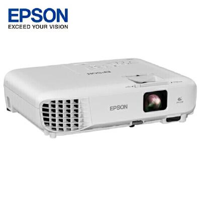 EPSON 爱普生投影机/投影仪 CB-X05,商务易用型投影机,标配USB/HDMI接口,爱普生CB-X04升级款 15000:1超高对比度!标配USB,无PC演示功能