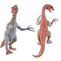 批发侏罗纪仿真实心恐龙模型玩具镰刀龙模型关节能动恐龙儿童玩具
