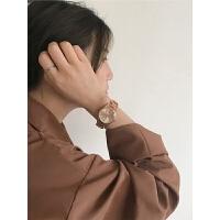 超薄手表潮流时尚女表简约女士钢带防水学生石英表