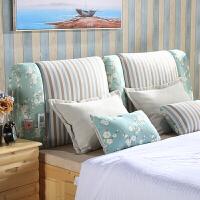 床头板软包床头罩简约现代包床头靠垫实木布艺可拆洗套定做大靠背定制