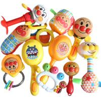 铃铛玩具 面包超人手摇铃婴儿玩具3-6-12个月新生儿宝宝安抚响铃铛沙锤