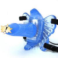 成人用品女用 10频无线遥控蝴蝶仿真阳具穿戴式按摩震动棒