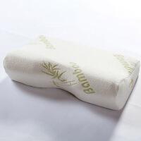 【开学季】伊迪梦家纺 竹纤维头型记忆枕慢回弹定型枕蝶形枕头枕芯WJ01