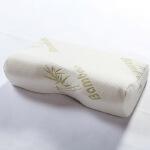 伊迪梦家纺 竹纤维头型记忆枕慢回弹定型枕蝶形枕头枕芯WJ01