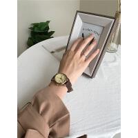 情侣手表一对简约学生时尚文艺男女士腕表