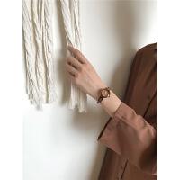 手表女复古文艺手镯式学生古风中国风气质链条小表盘