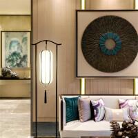 新中式落地简约卧室床头灯创意客厅灯书房灯酒店会所装饰灯具