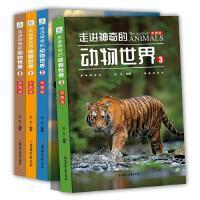 小牛顿科学馆全套4册写给儿童的百科全书 走进神奇的动物世界(彩图版)少儿儿童小学生认识自然奥秘 幼儿科普绘本动物书籍6