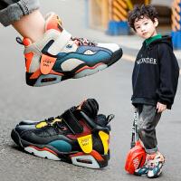 男童鞋秋冬季保暖宝宝儿童小男孩运动鞋子