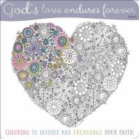 【预订】God's Love Endures Forever Coloring Book