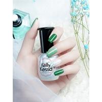 绿色甲油胶光疗可卸墨绿芭比胶指甲油胶蔻丹芭比胶