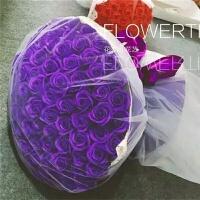 99朵香皂花肥皂玫瑰花束教师节情人节送妈妈女友创意生日实用礼品