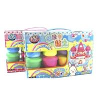 日照鑫 智高 3D轻质彩泥/魔法粘土 玩具无毒太空泥橡皮泥12色套装 礼盒装
