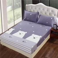 全棉床笠纯棉床罩席梦思保护套单件床套0.9 1.0 1.2 1.5 1.8