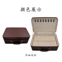 高端珠宝手镯箱15位玉器翡翠手镯戒指吊坠盒玉镯子展示收纳盒