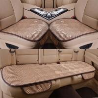 汽车坐垫单片三件套四季通用后排夏季凉垫冰丝车座垫透气夏天凉席