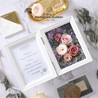 永生花礼盒相框永生玫瑰玻璃罩生日送女友纪念日节日礼物
