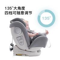 �芍煌米�和�安全座椅汽�用9��月-12�q��d����可坐躺isofix接口