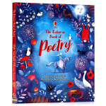 Usborne出品 给孩子的诗 英文原版 Poetry for Children 儿童诗歌集 古典及现代诗歌精选集