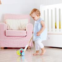 Hape推推乐系列1-6岁儿童益智木制玩具婴幼玩具拖拉学步