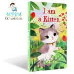 英文原版绘本I Am a Kitten 我是一只小猫 I am a bunny同系列名家 richard scarry