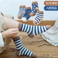 儿童袜子春秋男女童袜宝宝袜子棉袜保暖中筒婴儿袜0-6岁童袜