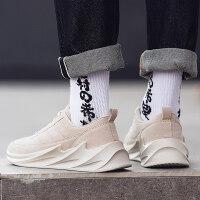 2019新款春季男鞋子韩版学生增高男士运动休闲跑步鞋百搭潮鞋