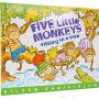 Five Little Monkeys Sitting in a Tree 五只小猴 廖彩杏书单 店长强烈推荐 英文儿童读物
