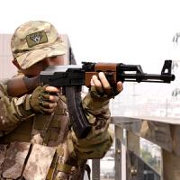 下供弹AK47手动款儿童真人CS吃鸡玩具枪