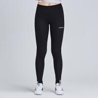 adidas阿迪达斯三叶草女裤2019春季新款跑步训练紧身长裤DU7196