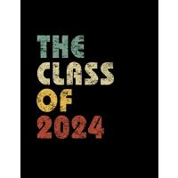 【预订】The Class of 2024: Vintage Composition Notebook For Note