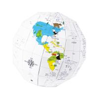 创意折纸地球-卡通手绘版
