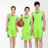 儿童亲子装球衣 男女夏篮球衣定制 儿童成年篮球服套装可印号