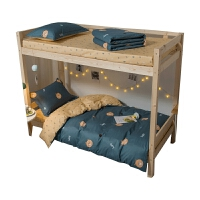 大学生宿舍床上用品三件套纯棉被套单人床单被褥全套寝室六件套装