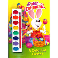 A Colorful Easter (Pint Box Book, Little Golden Book) 多彩的复活