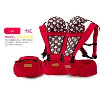 婴儿背巾宝宝前抱后背式腰凳背带四季通用多功能婴儿夏季防O型腿背娃神器ZT35