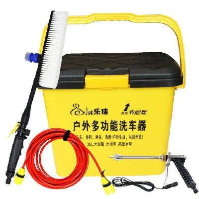25L智能电动洗车器 便携高压车载12v 车用洗车机洗车水枪25L 智能电机版原装25L容量
