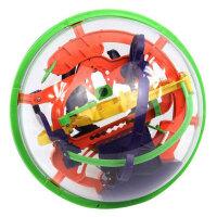 爱可优 3D立体迷宫球幻智力球挑战智力 儿童益智玩具球 创意玩具  100关923A
