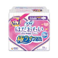 日本进口苏菲温柔肌极薄26cm日用卫生巾 19片