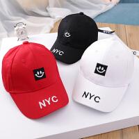 春季儿童帽子男潮韩版女童遮阳帽字母小孩帽男童棒球帽宝宝鸭舌帽