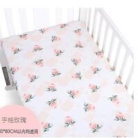 婴儿床上用品ins新生儿床笠 宝宝幼儿园床罩四季通用儿童床单ZQ-YS019
