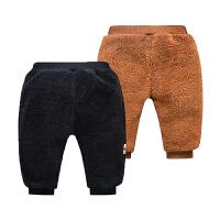 冬装婴儿加厚棉裤0-1-2岁男女宝宝3加绒加棉保暖长裤冬季男童裤子