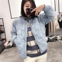 短款小个子羽绒服女韩版2018冬装新款时尚欧货轻薄白鸭绒韩版外套