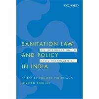 预订Sanitation Law and Policy in India:An Introduction to Basi