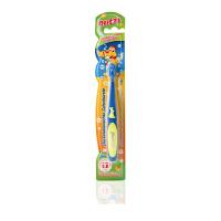 宝儿滋软毛儿童牙刷乳牙刷宝宝训练牙刷 保护牙齿 爸爸儿童快乐刷牙