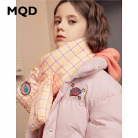 【1件2.5折券后�r:164】MQD童�b女童加厚棉衣2019冬�b新款�和�工�b保暖麂皮�q