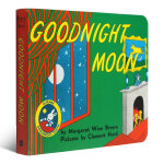Goodnight Moon 60th Anniversary Edition [Board Book]晚安月亮船60