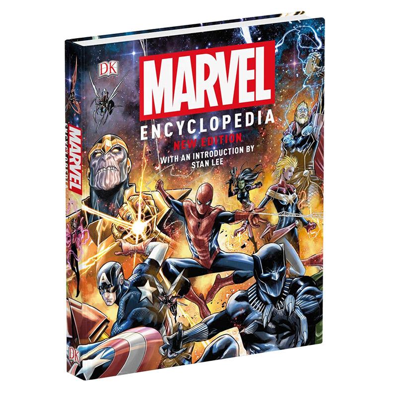 Marvel Encyclopedia New Edition 新版漫威百科全书 英文原版 善本图书 汇聚全球出版物,让阅读改变生活,给你无限知识