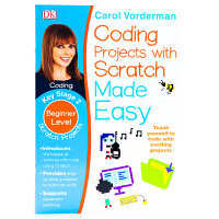 DK系列儿童英语编程语言入门Coding Projects with Scratch Made Easy Key St